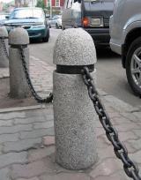 Столбики ограждения